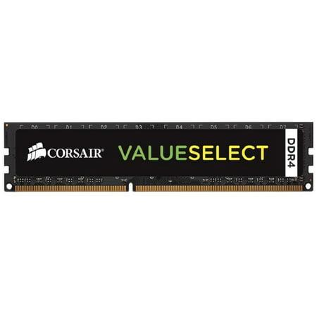 Corsair CMV8GX4M1A2133C15 ValueSelect 8GB 288-Pin DDR4 SDRAM DDR4 2133 (PC4 17000) Desktop Memory