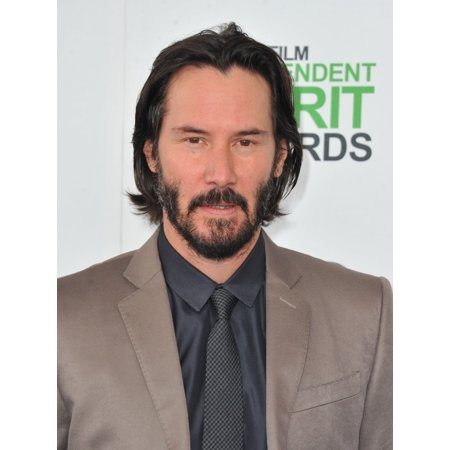 Keanu Reeves At Arrivals For 2014 Film Independent Spirit Awards   Arrivals 2 Rolled Canvas Art     8 X 10