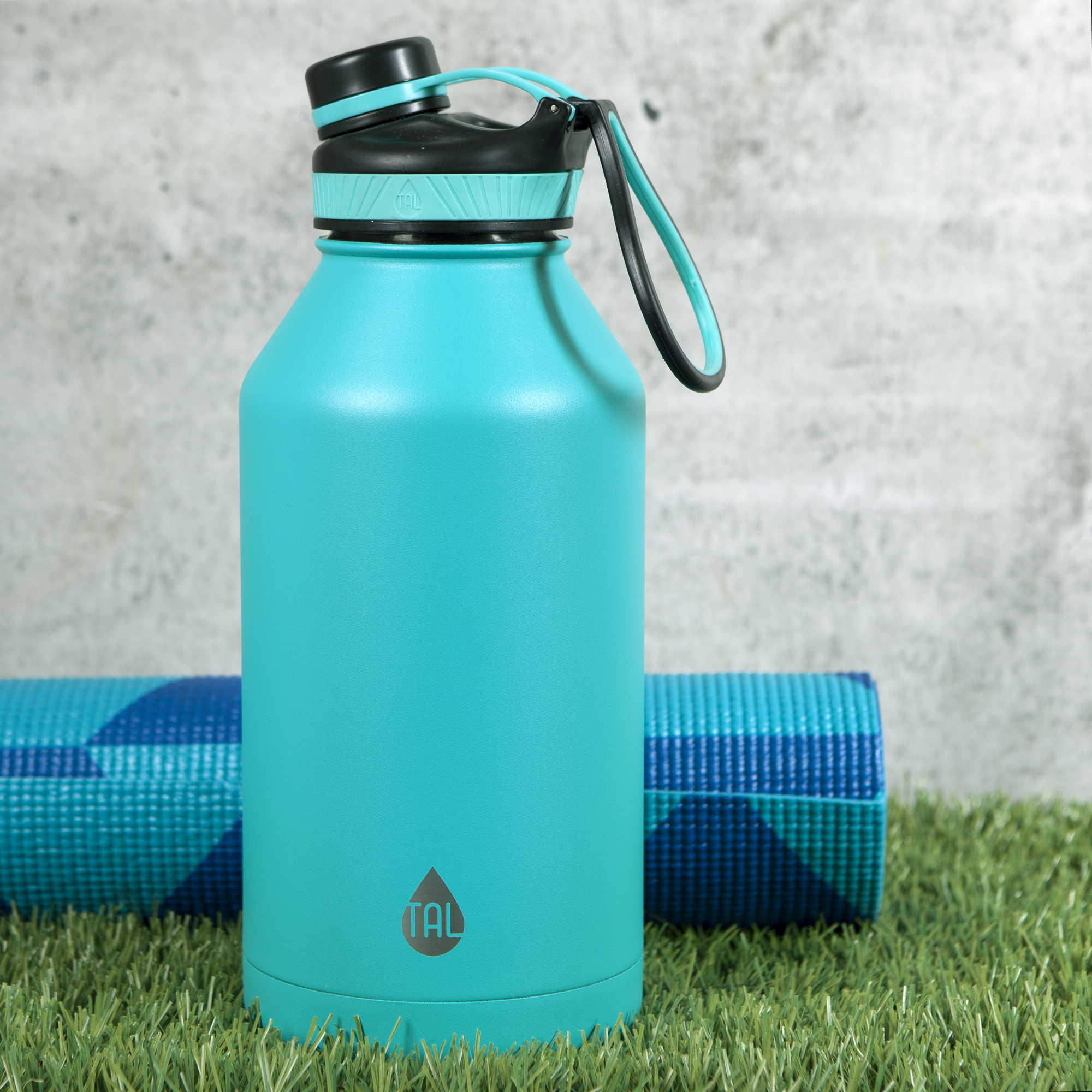 5aa8f74536a Details about TAL Teal 64oz Double Wall Vacuum Insulated Stainless Steel  Ranger™ Pro Water B
