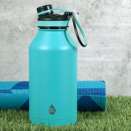 1d81900b47 Tal 64 Ounce Double Wall Vacuum Insulated Stainless Steel Ranger Pro Teal Water  Bottle ...