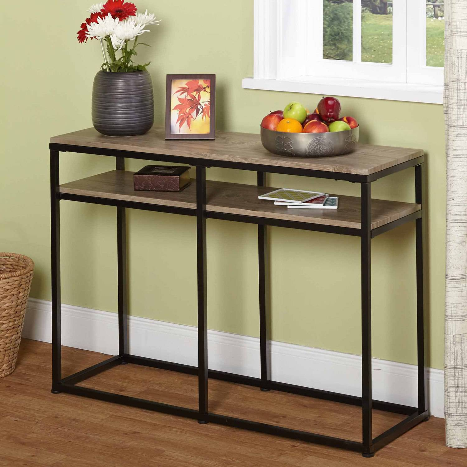 vie occasional sofa table, 60005nat - walmart