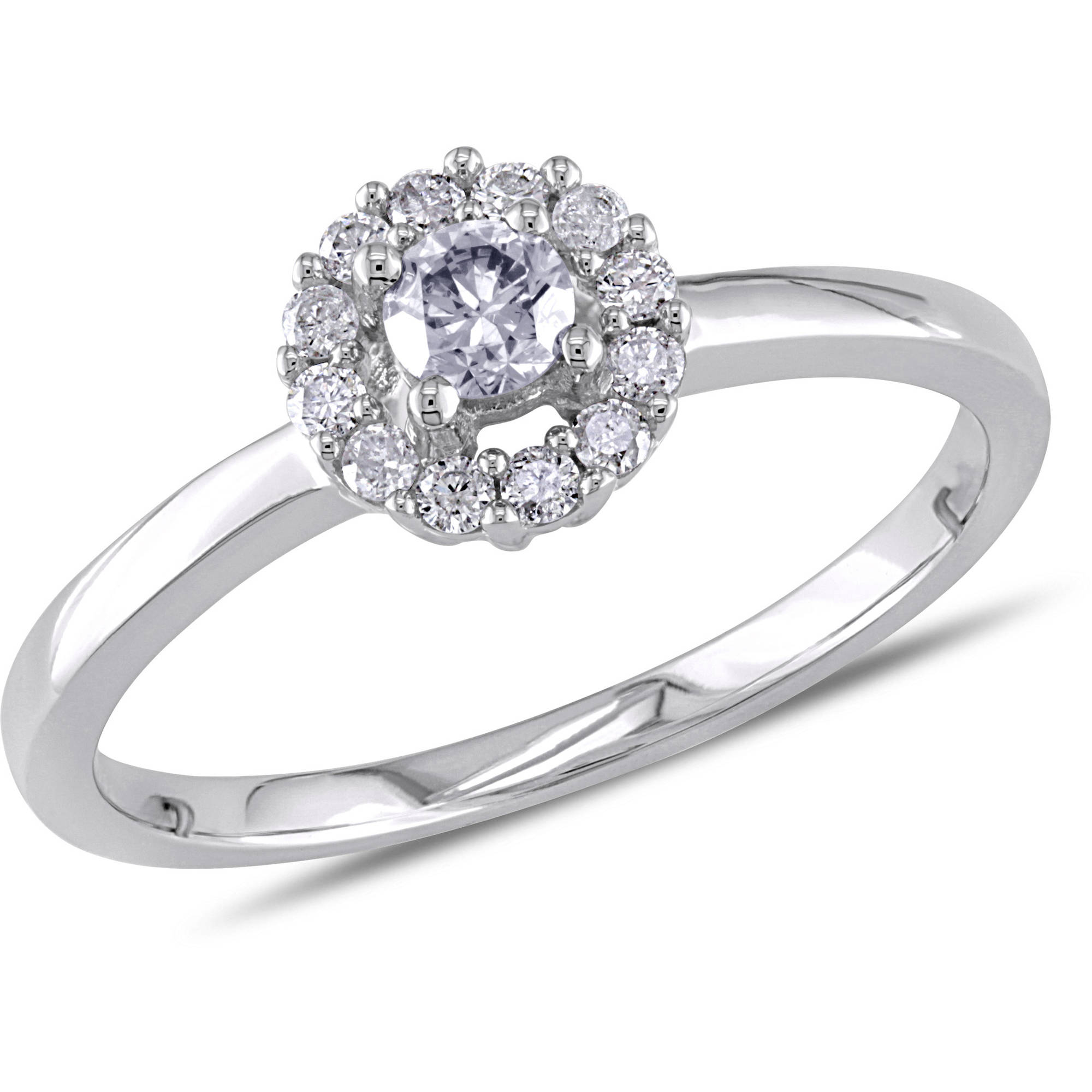 rings group stone ring diamonds profile prong shared engagement carat products nei