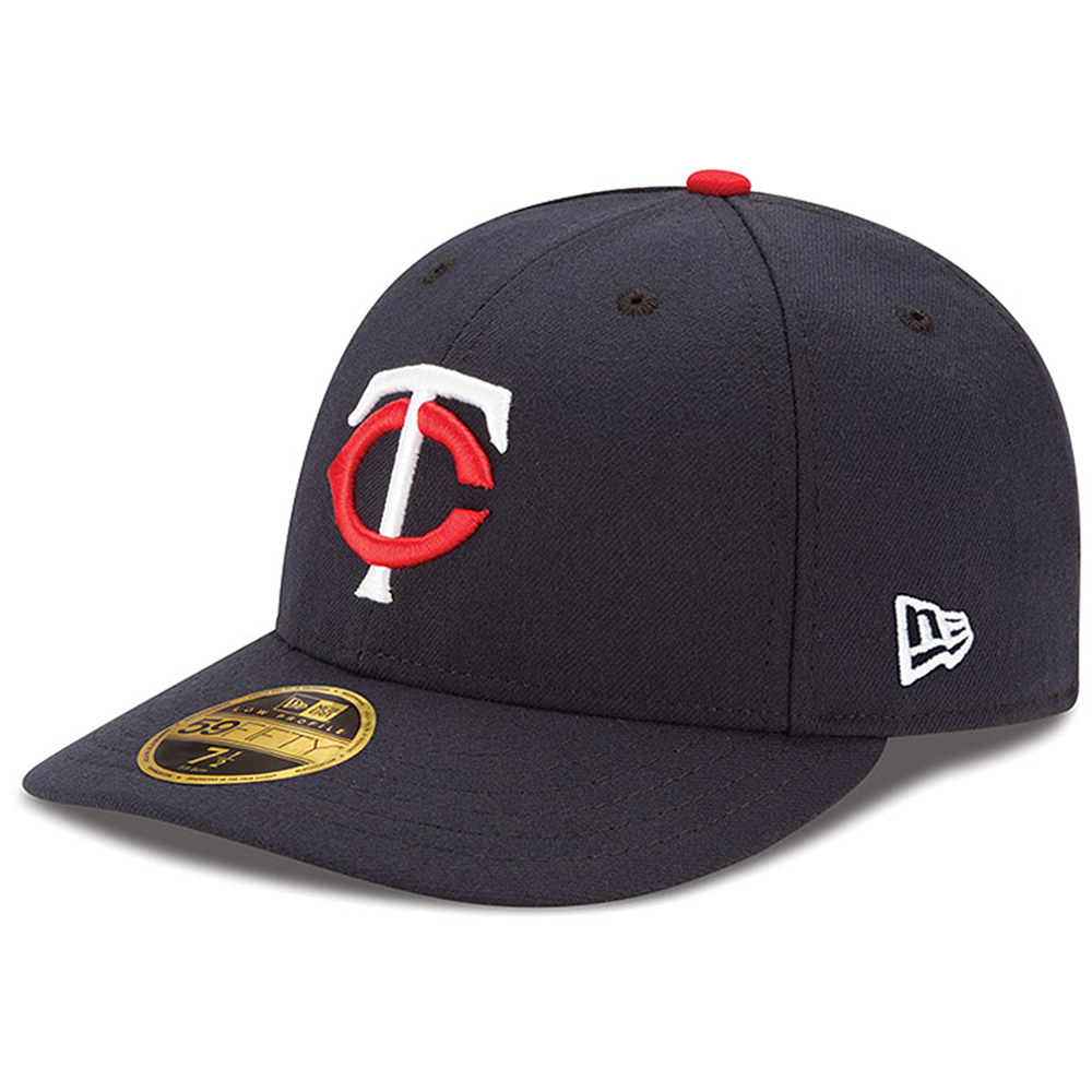 Minnesota Twins New Era Authentic Collection On Field Low Profile Home 59FIFTY Fitted Hat - Navy
