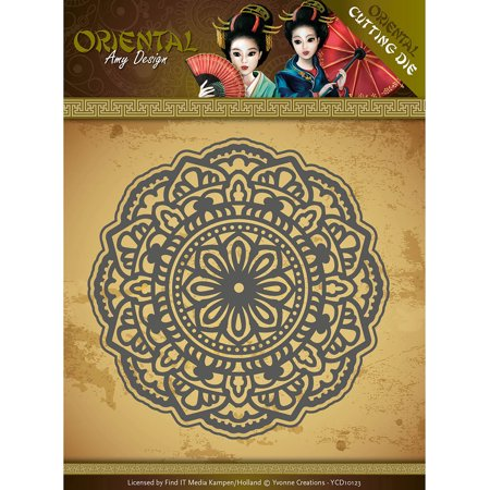 Find It Trading Amy Design Oriental Die-Mandala (Orential Trading)
