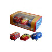 Alexander Taron Collectible Decorative Tin Toy Mini Vehicles