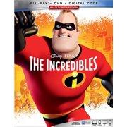 The Incredibles (Blu-ray + DVD + Digital Copy)