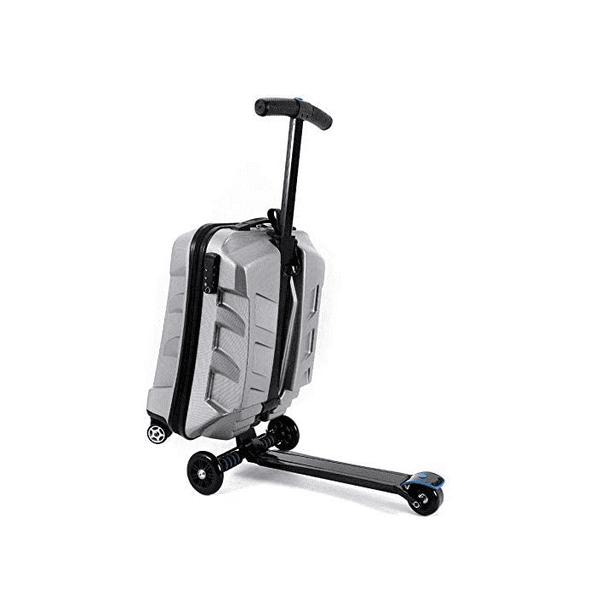 21英寸TSA锁滑板车行李箱铝手提箱