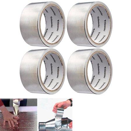 4 Trisonic Aluminum Foil Tape Heat Shield Reflector Sealing Adhesive 1.89