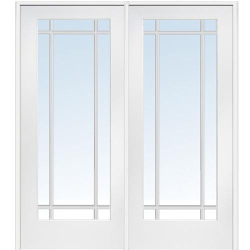 Verona Home Design MDF Primed Interior French Door