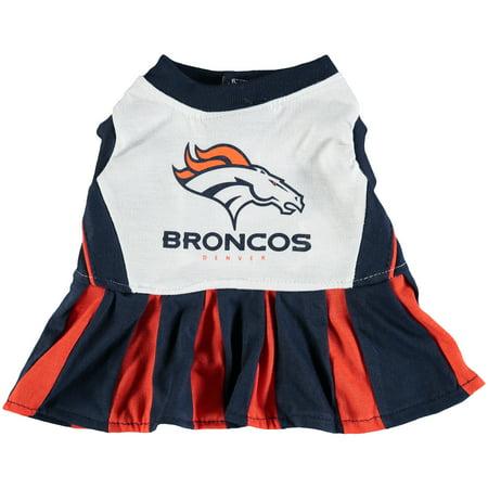 Denver Broncos Dog Cheerleader - Broncos Outfit