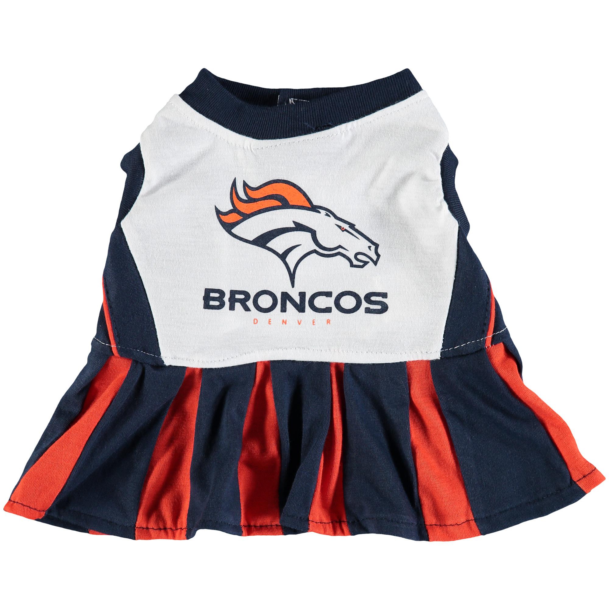 Denver Broncos Dog Cheerleader Outfit