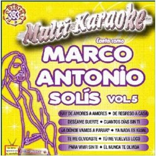 MultiKaraoke: Canta Como - Marco Antonio Solis, Vol. 5