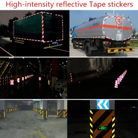 3Mx5cm Waterproof PVC Reflective Safety Warning Conspicuity Tape Film Sticker Cars,Blue - image 6 of 6