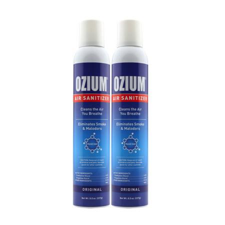 (2 Pack) Ozium Air Sanitizer, Original, 8 Oz
