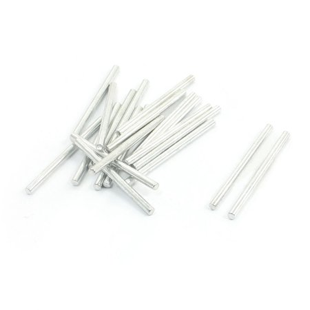 20Pcs Toy Car Frame Part Stainless Steel Round Shaft Rod Bar 30Mm X 2Mm