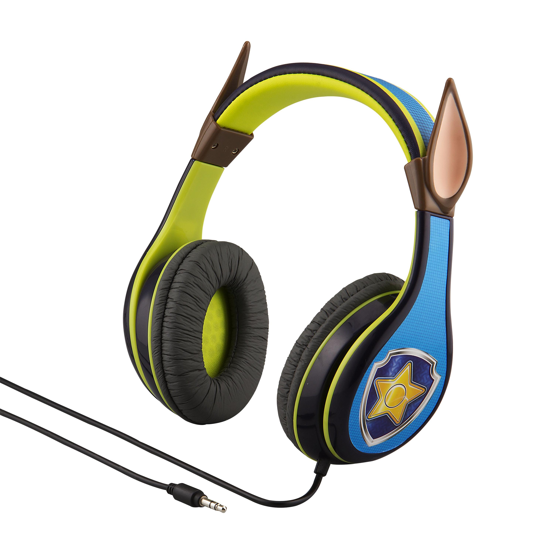Paw Patrol Headphone, Chase by Paw Patrol - Nickelodeon