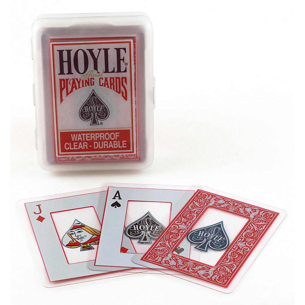 Hoyle Clear Playing Card Deck