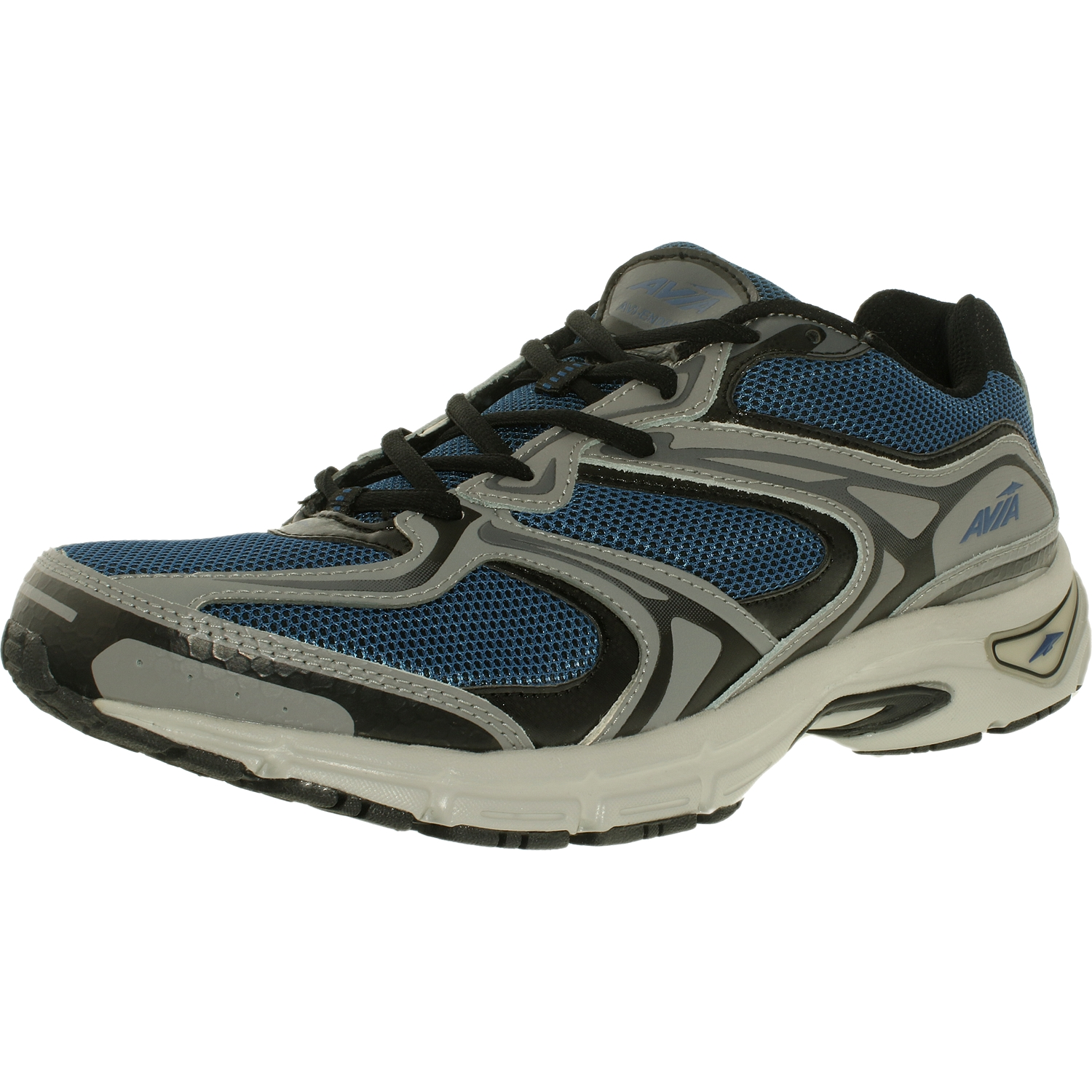Avia Men's Endeavor M Navy/Black/Grey Ankle-High Synthetic Cross Trainer Shoe - 8.5W