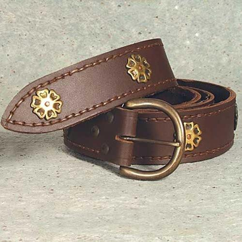 Medieval Heavy Grade Brown Knightly Belt