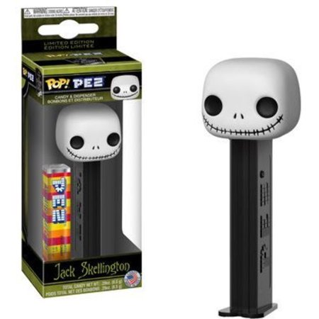FunKo POP! PEZ Dispenser, Nightmare Before Christmas Jack Skellington (Jack Jack From Incredibles)