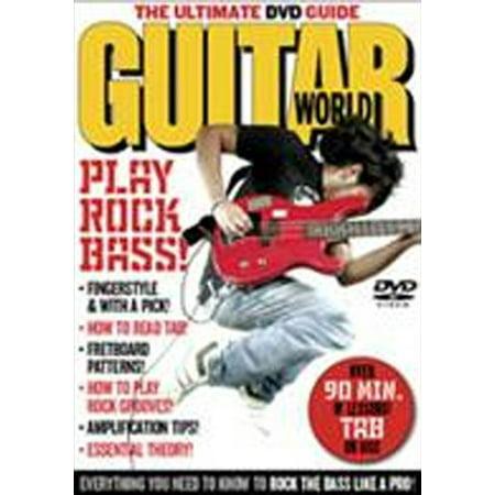 Guitar World: Play Rock Bass (DVD)