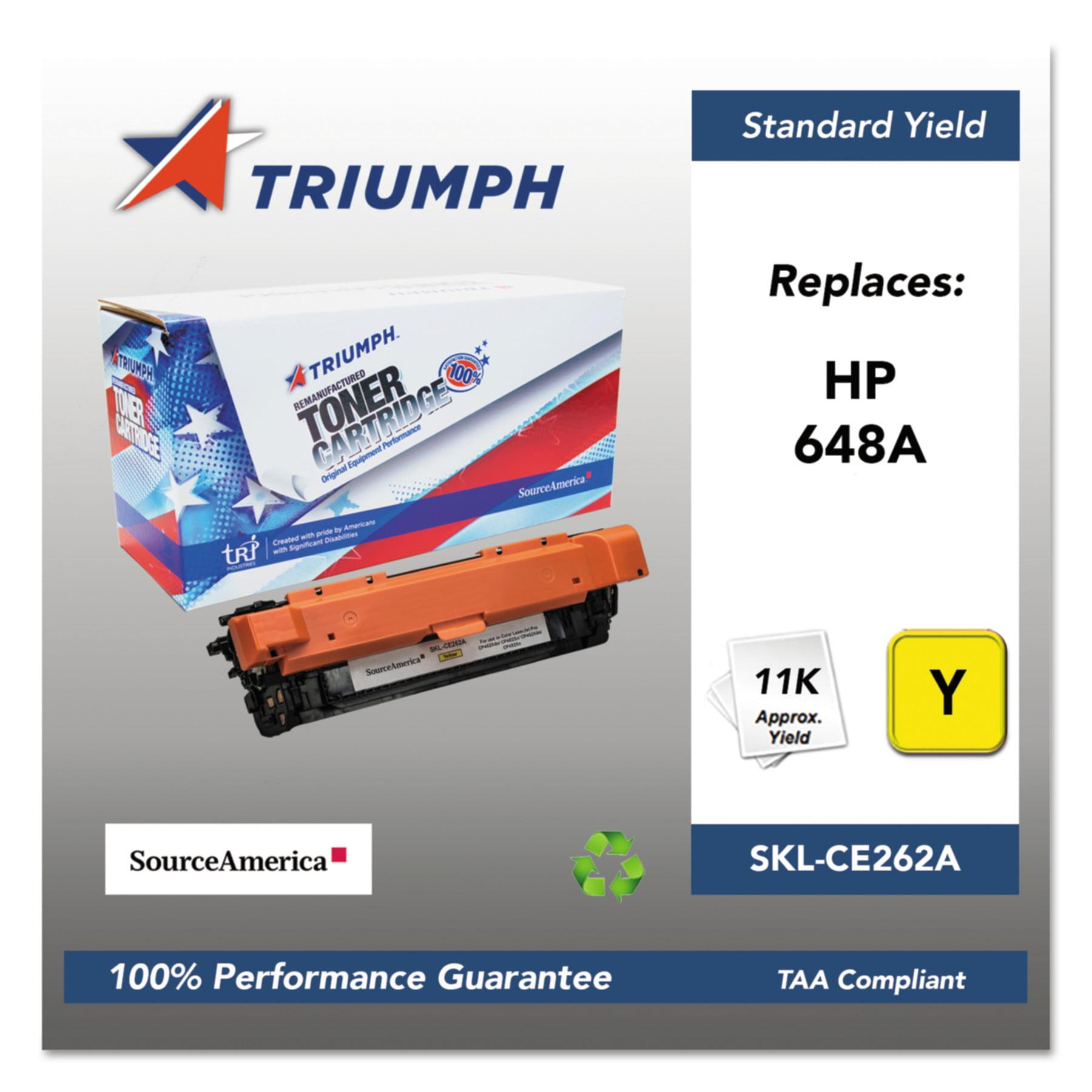 Triumph 751000NSH1116 Remanufactured CE262A (648A) Toner,...