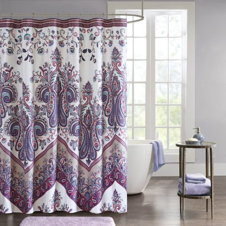 Bungalow Rose East Rolstone Printed Shower Curtain