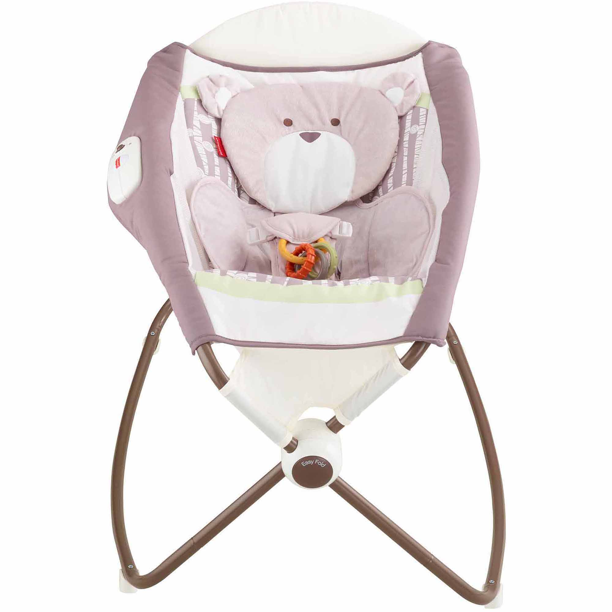 Fisher-Price My Little Snugabear Forest Edition Deluxe Newborn Rock 'n Play Sleeper