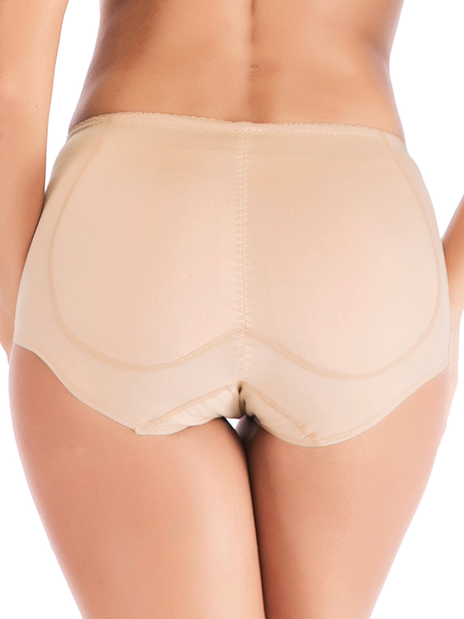 Foam Pads Padded Panties with Fake Ass Lifter Increase Butt Push Up Shape Enhancing Briefs Underwear