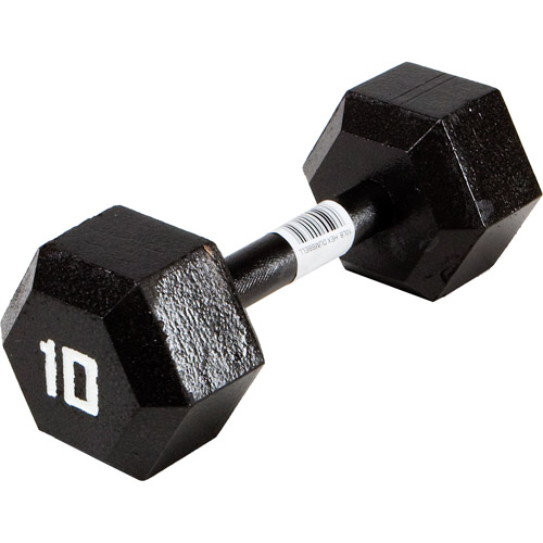 Marcy Classic Ecoweight Zero Emission Hex Dumbbell: IV-2010 Sold Individually