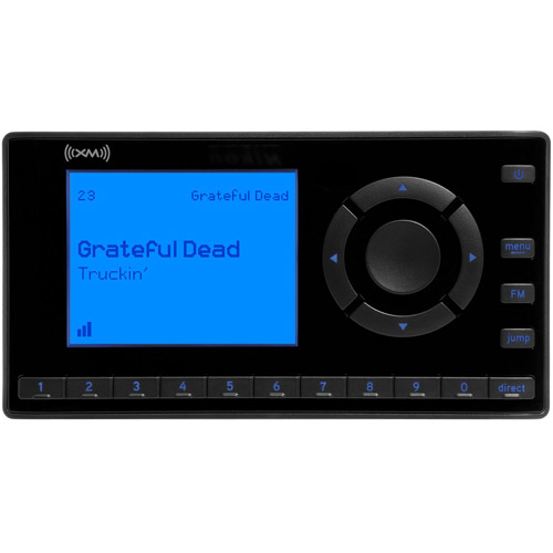 XM Satellite Radio XEZ1V1 Onyx EZ Dock and Play Radio with Vehicle Kit