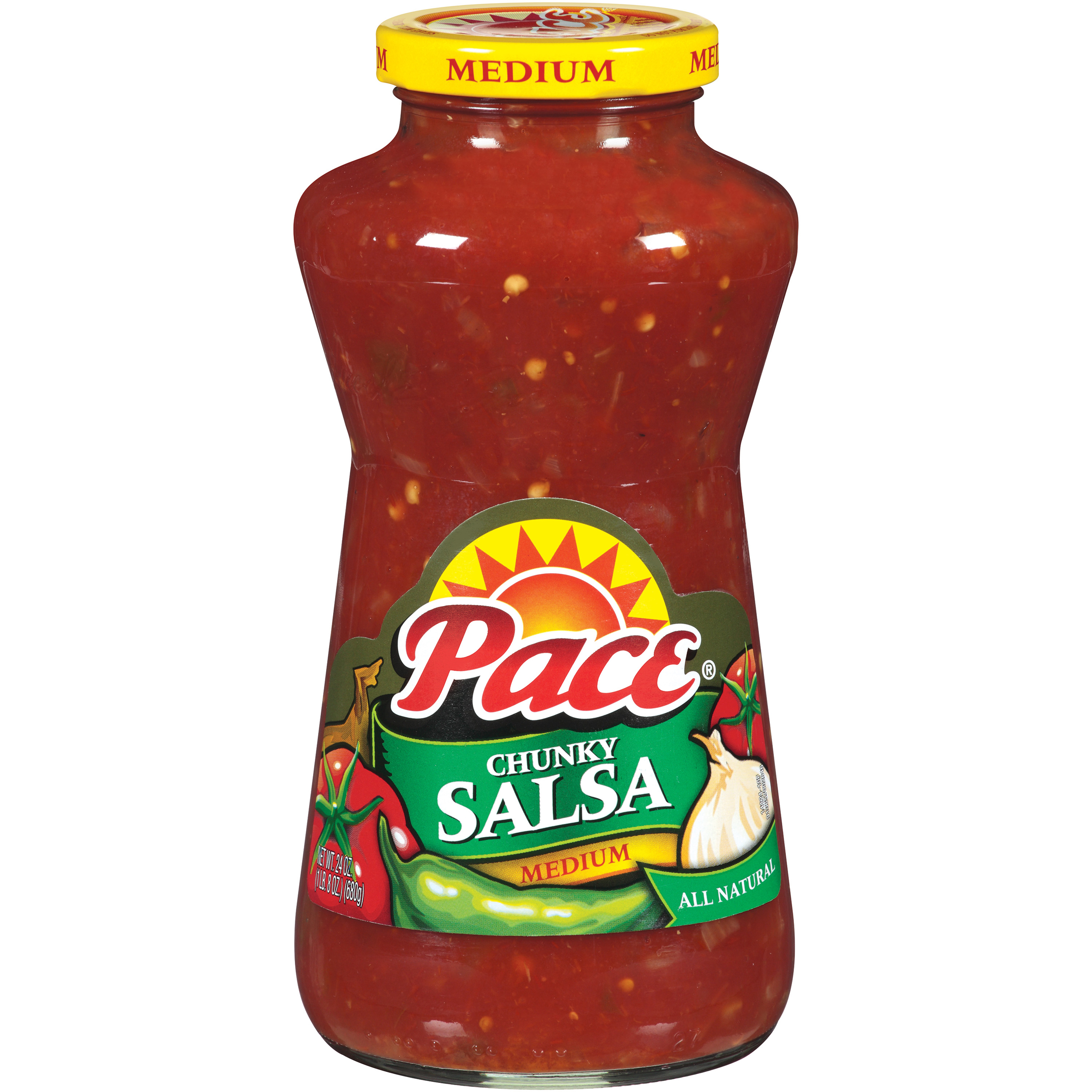 Pace Medium Chunky Salsa 24oz
