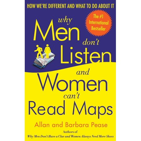 Why Men Don't Listen and Women Can't Read Maps : How We're Different and What to Do About (Woman Reading Monet)