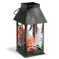 "12"" Owl Lantern - LED Lights"