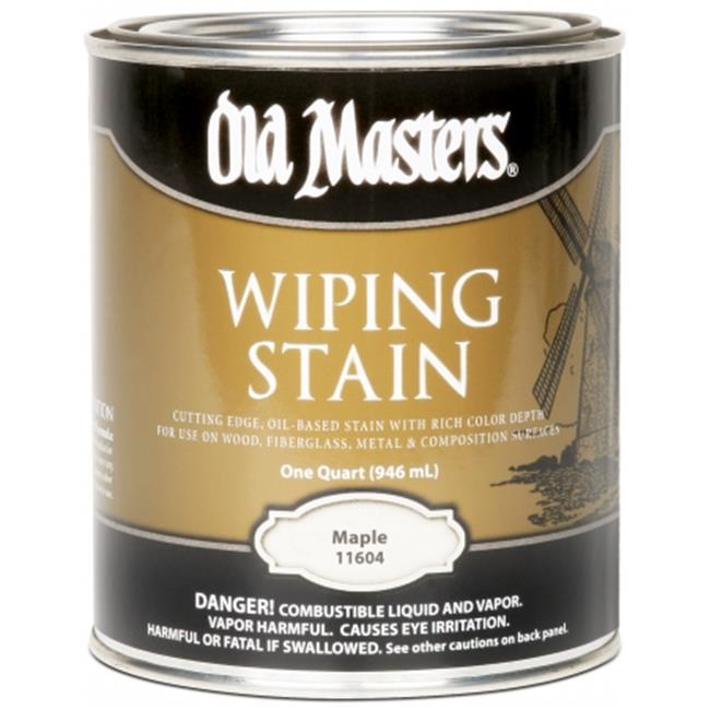 Old Masters 11604 1 Quart Maple Wiping Stain