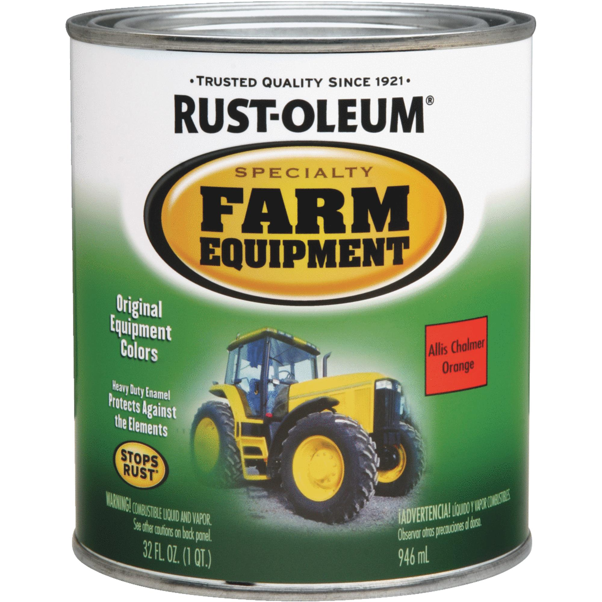 Rust-Oleum Farm Equipment Enamel