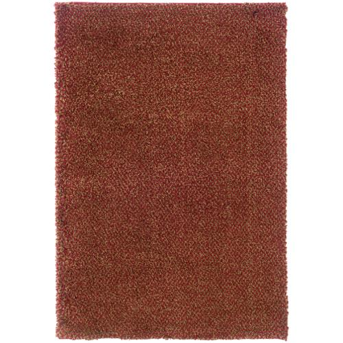 "Style Haven Indoor Red/ Gold Shag Area Rug (9'10 x 12'7) - 9'10"" x 12'7"""