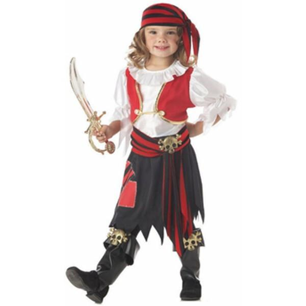 California Costumes Child's Penny The Pirate Girl Costume