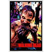 The Walking Dead Zombie TV Blacklight Poster 23 x 35in