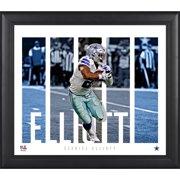 "Ezekiel Elliott Dallas Cowboys Framed 15"" x 17"" Player Panel Collage"