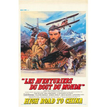 Posterazzi MOV353828 High Road to China Movie Poster - 11 x 17 in. - image 1 of 1