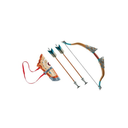 Link Breath Of The Wild Deluxe Bow Set W/Quiver & Arrows Halloween Costume Accessory