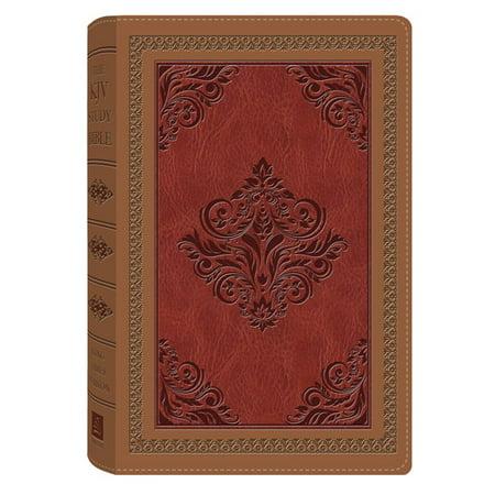 The KJV Study Bible (Antique Brown/Burgundy)