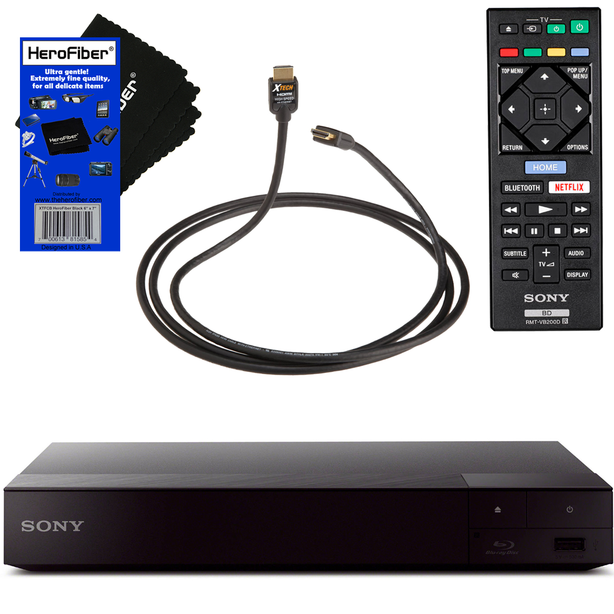 Sony Bdps6700 4k Upscaling Blu Ray Disc Player With Built