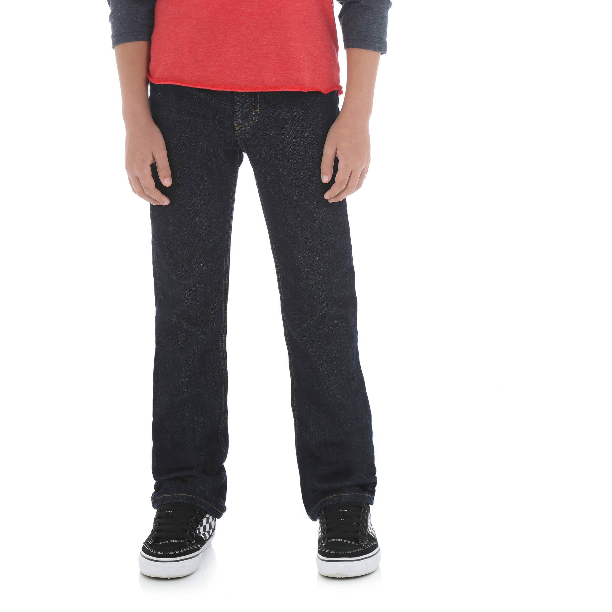 Wrangler Boys' Classic Slim Straight Jean
