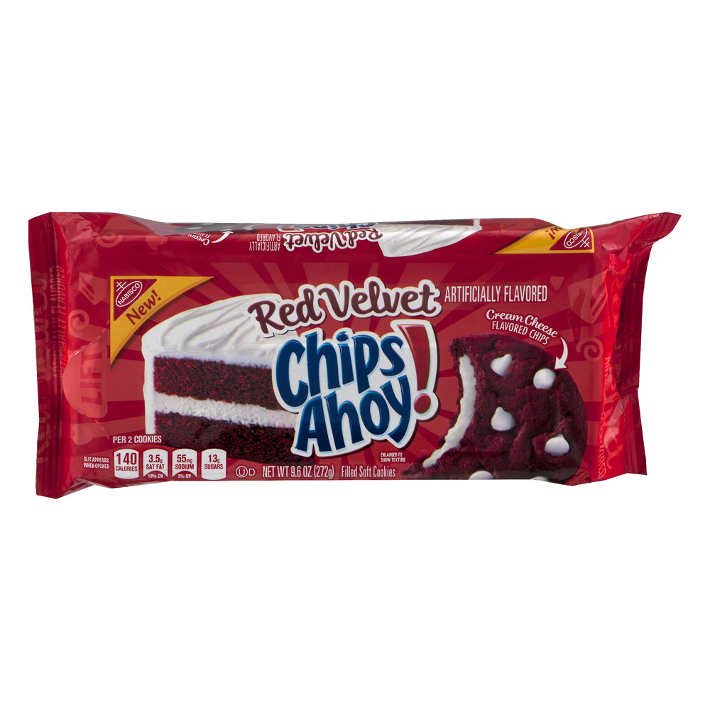 Nabisco Red Velvet Chips Ahoy!, 9.6 OZ