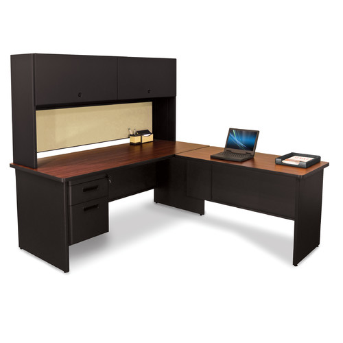 marvel office furniture pronto l shape executive desk with