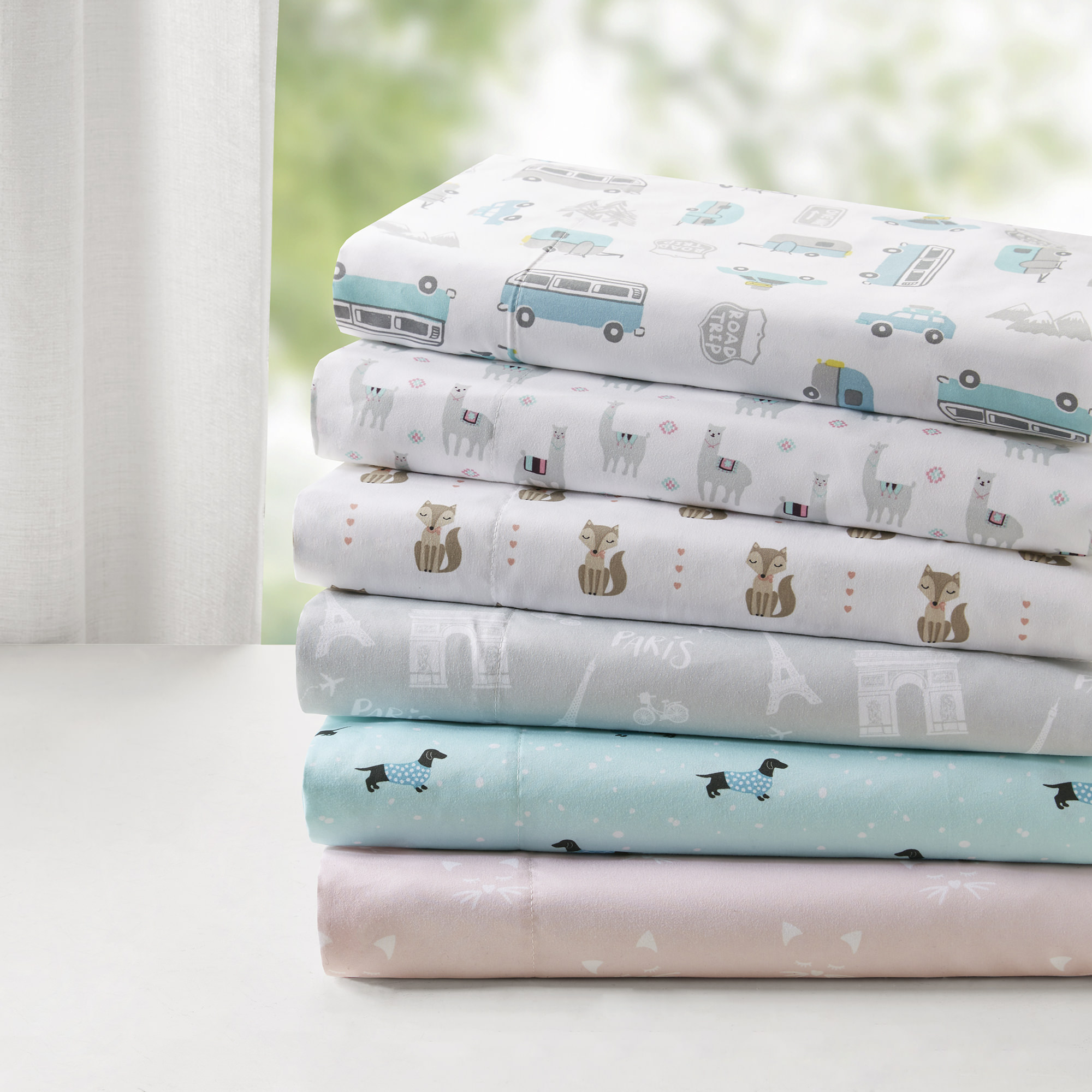 Comfort Classics Novelty Super Soft Printed Sheet Set