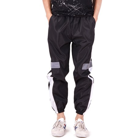 Slim Track - SAYFUT Men Fashion Color Block Patchwork Jogging Pant Sports Hip Hop Track Trousers Long Slacks Slim Fit Joggers Outwear