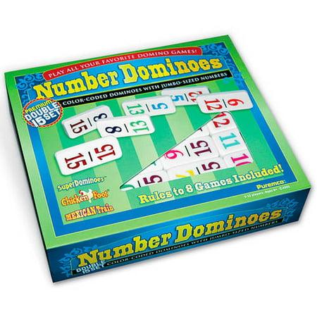 - Number Dominoes Premium Double 15 Set